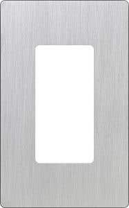 Claro® 1-Gang Wallplate - Stainless Steel
